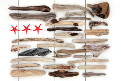 Driftwood Collage Royalty Free Stock Image