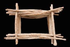 Driftwood Frame Stock Image