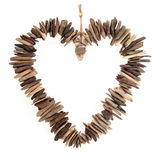 Driftwood Love Heart Royalty Free Stock Photo