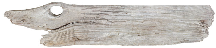 Driftwood plank Stock Photography