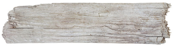 driftwoodplanka Royaltyfria Bilder