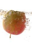Drijvende appel stock afbeelding