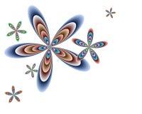 Drijvende Bloemen Royalty-vrije Illustratie