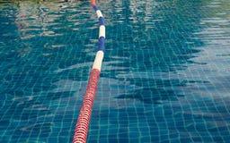 drijvende boei in de pool. Royalty-vrije Stock Afbeeldingen