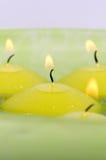 Drijvende kaarsen. Royalty-vrije Stock Fotografie