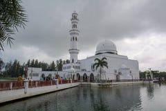 Drijvende moskee royalty-vrije stock afbeeldingen