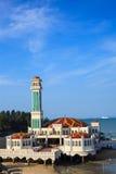 Drijvende moskee Stock Foto's