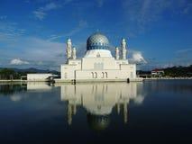Drijvende moskee Kota Kinabalu royalty-vrije stock foto's