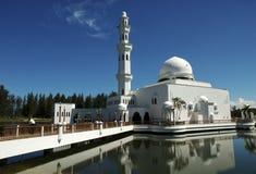 Drijvende Moskee van Terengganu, stock afbeelding