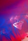 Drijvende plastic parels Stock Afbeeldingen