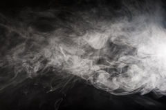 Drijvende rook Stock Foto's