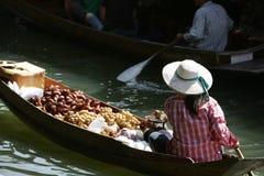 Drijvende verkoper Stock Foto's
