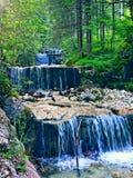 Drijvende watervallen royalty-vrije stock afbeeldingen