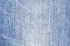 Dril de algodón azul Foto de archivo