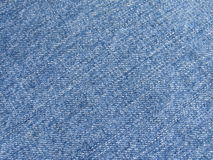 Dril de algodón azul imágenes de archivo libres de regalías