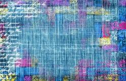 Dril de algodón de la vendimia Foto de archivo libre de regalías