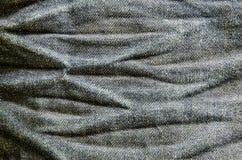 Dril de algodón descolorado Imagen de archivo libre de regalías