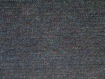 Dril de algodón lavado añil oscuro Fotos de archivo libres de regalías