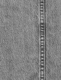 Dril de algodón negro 1 Imagen de archivo