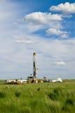 Driling para el petróleo Imagen de archivo libre de regalías