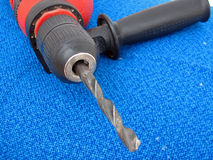 Drill. Electric drill Royalty Free Stock Photo