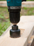 drill Fotografering för Bildbyråer