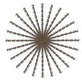 Drill Bit Circle Isolated Stock Photography