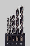 Drill Bit Set Royalty Free Stock Image