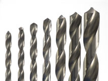 Drill bit swirl Stock Photography