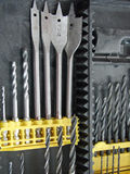 Drill bits Stock Photos