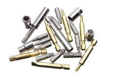 Drill Bits Stock Image