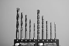 Drill bits Royalty Free Stock Image