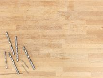 Drill Bits Royalty Free Stock Photography