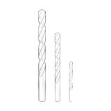 Drill bits - drawing Royalty Free Stock Photography