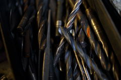 Drill bits Royalty Free Stock Photos