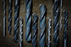 Drill bits. Stock Images