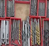 Drill bits Royalty Free Stock Image