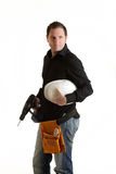Drill Boy Isoloated Royalty Free Stock Image