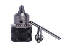 Drill chuck Royalty Free Stock Image