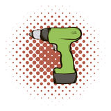 Drill comics icon Royalty Free Stock Photography