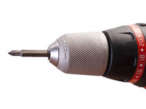 Drill Head. With cross drill bit Royalty Free Stock Images