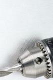 Drill head with bit closeup Stock Photos