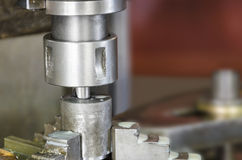 Drill milling machine Stock Image