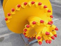Drill Mining Head stock photos
