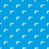 Drill pattern seamless blue Royalty Free Stock Photo