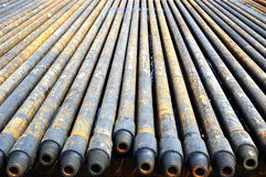 Drill pipe Royalty Free Stock Image