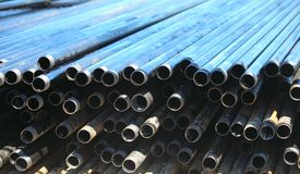 Drill-pipe Royalty Free Stock Image