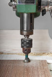 Drill press Stock Images