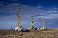 Drill Rigs Stock Images