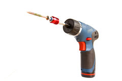 Drill-screwdriver Stock Photography